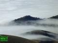 La nebbia agli irti colli (Castelluccio di Norcia) - foto WBIKE