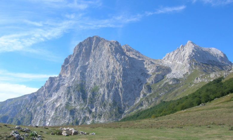 Photo of Gran Sasso, ecco il video della frana nella Valle dell'Inferno