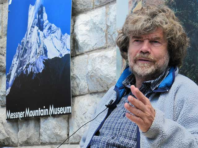 L'alpinista altoatesino è stato già insignito dell'onorificenza di commendatore