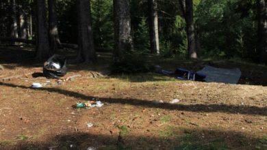 Photo of Fonte Vetica (Gran Sasso): i soliti incivili lasciano in bella vista persino un materasso gonfiabile