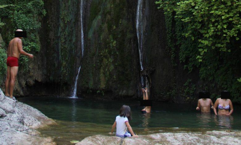 """Photo of La Cisterna (Majella) è una vasca da bagno. Forestale: """"Il Parco adotti un provvedimento"""""""