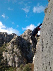 foto arrampicata