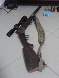 bracconaggio armi