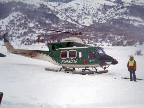 forestale elicottero