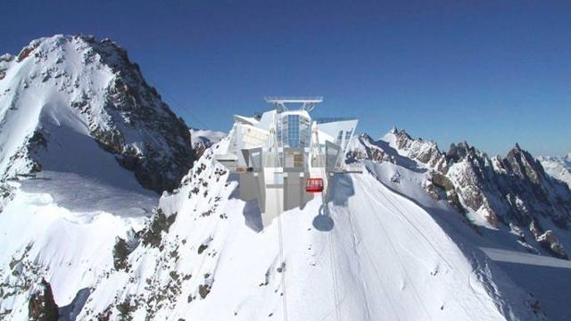 Nuova Funivia Monte Bianco Terrazza Panoramica A Punta