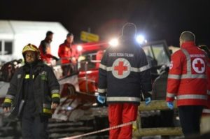 Snowmobile accident kills six in Italian Alps