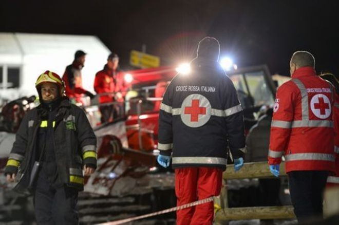 Snowmobile accident kills six in Italian Alps