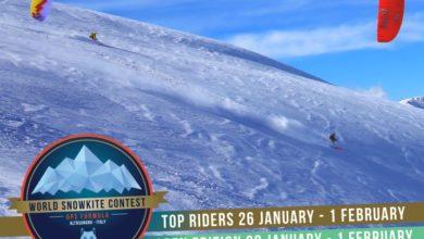 Photo of Conto alla rovescia per il Campionato del Mondo di Snowkite a Roccaraso