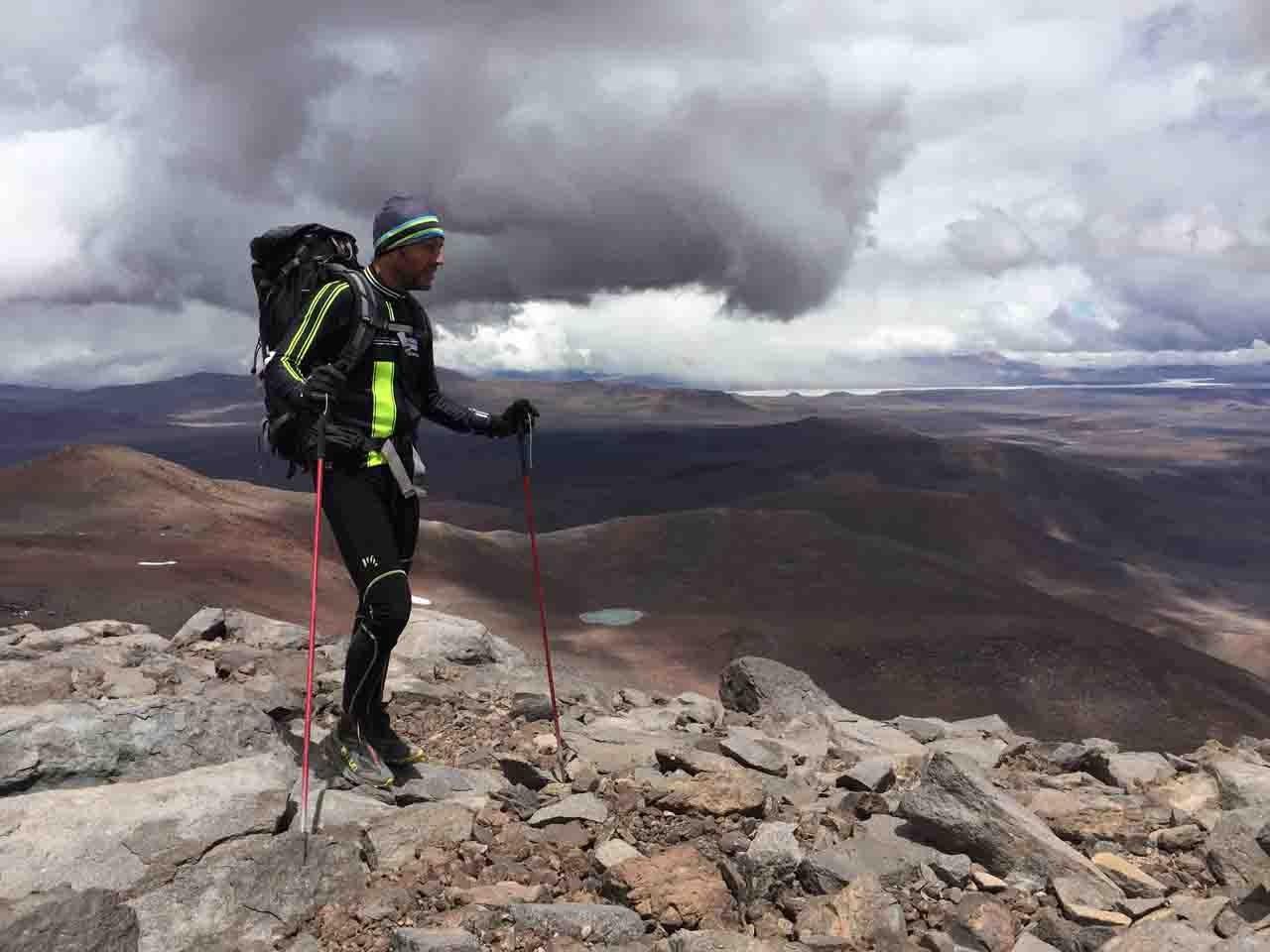 cima del Veladero 6090 mt