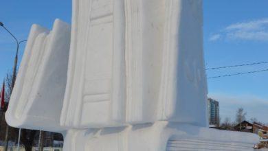 Photo of Vania Cusini vince il festival di sculture di neve e ghiaccio a Perm in Russia