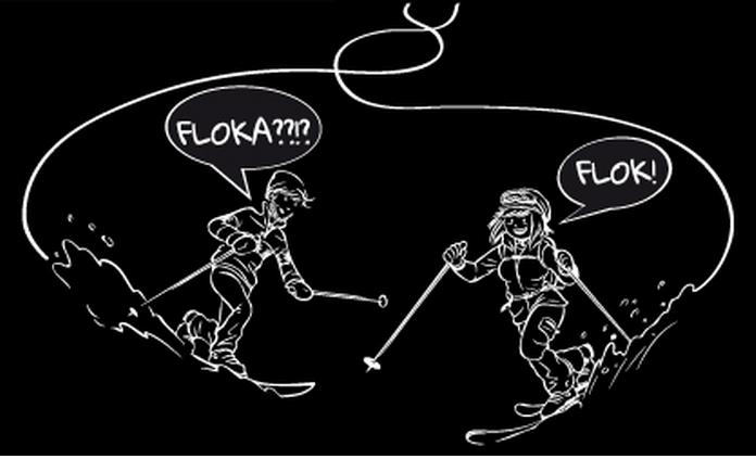 Photo of Con Flok e Floka per La Skieda 2015 a Livigno telemarker di tutto il mondo