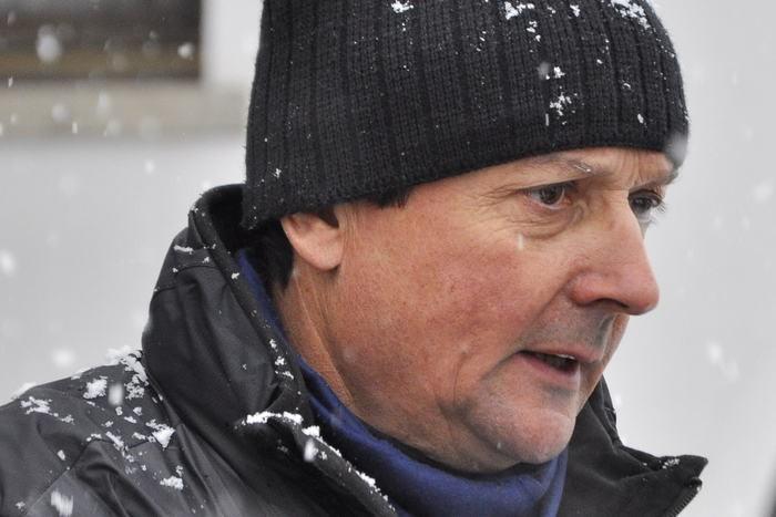 Il direttore del soccorso alpino valdostano, Adriano Favre
