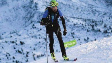 Photo of Robert Antonioli campione del mondo scialpinismo a Verbier in Svizzera