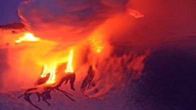 Photo of Eruzione dal nuovo cratere di sud-est dell'Etna, allarme rientrato