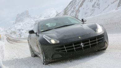 Photo of Ferrari FF 4×4, spettacolari test sui passi alpini di Cortina