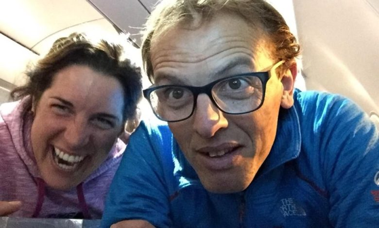 Photo of Simone Moro e Tamara Lunger in volo verso Kathmandu: destinazione Manaslu