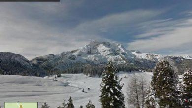 Photo of Sulle Dolomiti con Google Street View seduti al pc