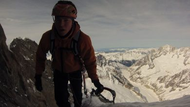 Photo of Tom Ballard sul K2 dove 20 anni fa morì la mamma Alison Hargreaves