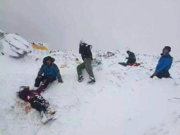 alpinisti feriti