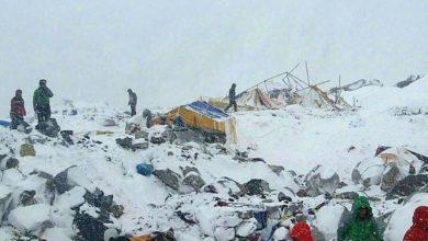 Photo of Il video della valanga sul campo base dell'Everest
