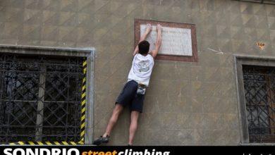 Photo of Sondrio Street Climbing, voglia matta di arrampicare nel centro città