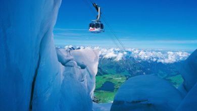 Photo of Sul Titlis nel cuore del ghiacciaio o sul ponte sospeso più alto al mondo
