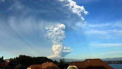 Photo of Eruzione del vulcano Calbuco in Cile, è allerta rossa
