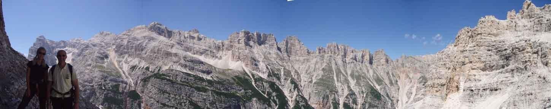 Panorama cengia paolina