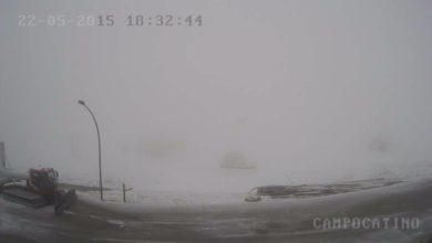 Photo of Il ciclone Venere non porta l'amore… ma la neve sull'Appennino a fine maggio