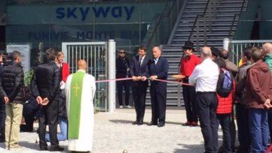 """Photo of Il Premier Renzi inaugura la Funivia Monte Bianco: """"Orgoglio italiano"""""""