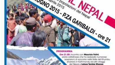 Photo of A Sondrio serata Cai per raccogliere fondi per il Nepal