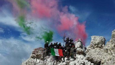 """Photo of Alpini sulla """"Grande"""" di Lavaredo, tutto pronto per l'esercitazione """"5 Torri 2015"""""""