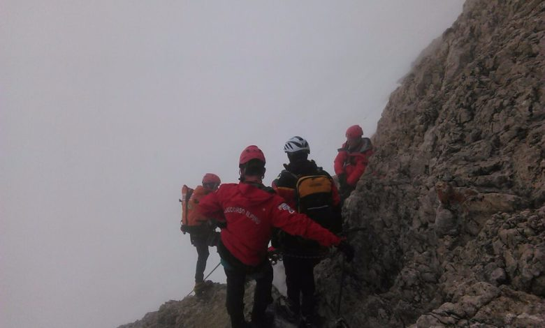 Photo of Fulmine in montagna, un morto e due feriti sulla Marmolada