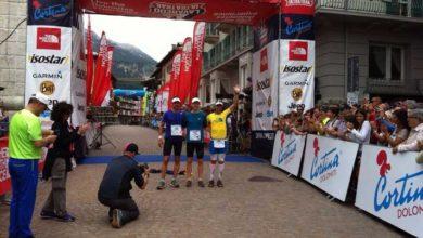 Photo of Il norvegese Hermansen Didrik vince la Lavaredo Ultra Trail 2015