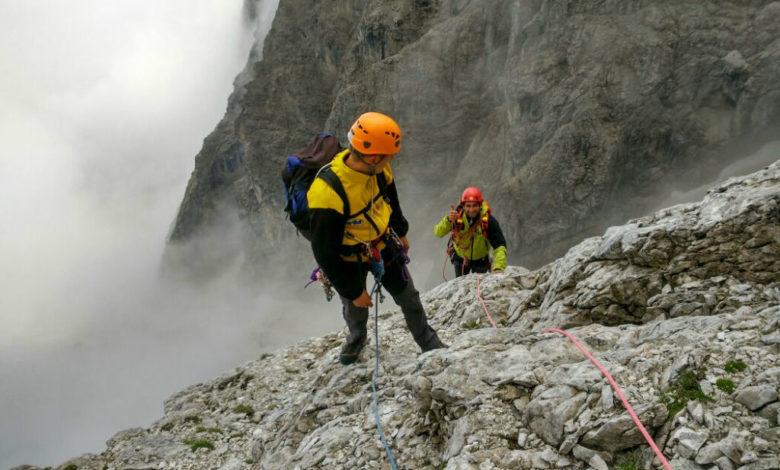 Photo of Salvati dopo 24 ore in parete sul Popera. Francesi salvi sul Monte Bianco