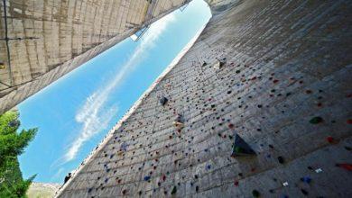 Photo of In Alto Adige realizzata palestra di arrampicata sulla diga