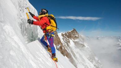 Photo of Danilo Callegari sul Monte Rosa in vista di Africaextreme2015