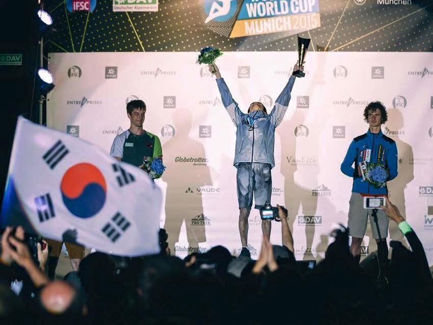 campionati mondo boulder monaco