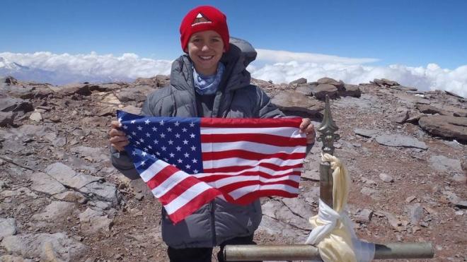 Photo of L'americano Tyler Armstrong a 12 anni vuole scalare l'Everest