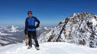 Photo of Il 62enne svizzero Kurt Hess attraversa la Svizzera in verticale in 13 ore