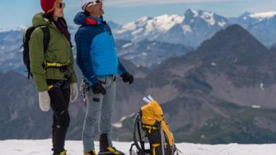 """Photo of Caterina Balivo e Simone Moro illustrano """"Monte Bianco"""" [video]"""