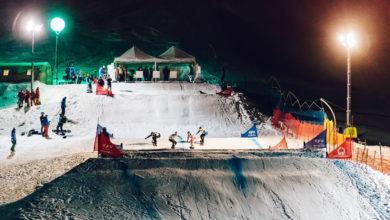 Photo of A Cortina la prima della Coppa del Mondo di Snowboardcross