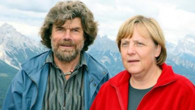 Photo of Messner invita Renzi per l'annuale arrampicata sulle Dolomiti con la Merkel