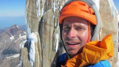 Photo of Colin Haley in 16 ore sulla vetta della Torre Egger in solitaria