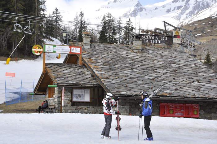 Aosta: la scuola di sci di La Thuile