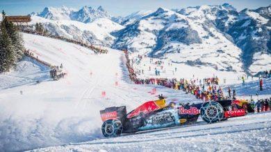 """Photo of Red Bull a rischio multa per la """"discesa"""" di Kitzbühel"""