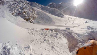 Photo of Neve e valanghe al Nanga Parbat, travolta la tenda cucina