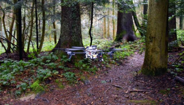 droni montagna