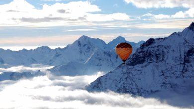 Photo of San Valentino in Val d'Aosta con la testa fra le nuvole