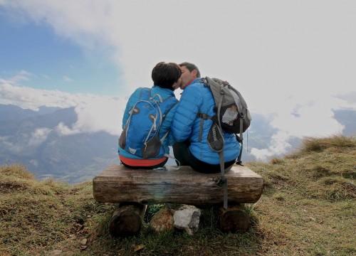 montagna di baci